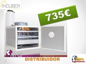 INCUBADORA FIEM MG-70/100 FAMILY MINI LCD