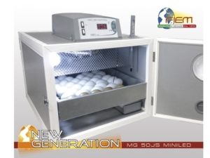 INCUBADORA FIEM MG-50 JUNIOR MINI LCD