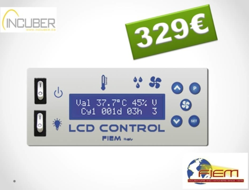 CENTRAL LCD FIEM COMPLETA