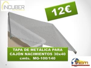 TAPA METÁLICA CAJÓN 30×40 cm